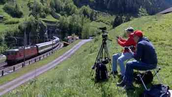 Trainspotter in Aufruhr: Die letzten Tage vor der Gotthard-Eröffnung