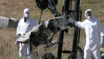 Helikopter-Absturz: Neue Bilder zeigen ein Trümmerfeld