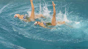 Olympia-Porträt 2016: Synchronschwimmen - Sascia Kraus und Sophie Giger