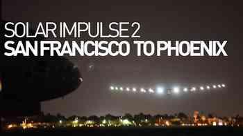 """""""Solar Impulse 2"""" nach Kurzetappe sicher in Phoenix gelandet"""