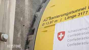 Startschuss für dritte Röhre am Belchen: Hier frisst sich die Tunnelbohrmaschine durch den Jurastein