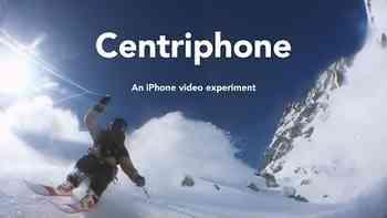Skifahrer macht unglaubliche Aufnahmen – nur mit einem Smartphone und etwas Schnur
