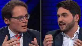 Cédric Wermuth gegen Roger Köppel im «SonnTalk»: Die Show der Streithähne