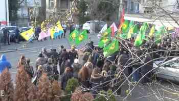 Polizei verhaftet sechs kurdische Demonstranten