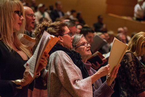 Messiah Sing-Along 2015 © Jamie Pham